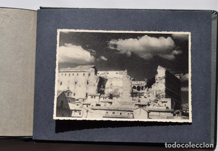 Fotografía antigua: ALCÁZAR DE TOLEDO.- ÁLBUM DE FOTOGRAFÍAS ANTES DURANTE Y DESPUES DE LA GUERRA CIVIL, CADA FOTO 17X12 - Foto 24 - 183472858