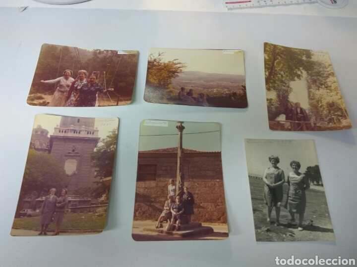 FOTOS FOTOGRAFÍAS VILLA GARCÍA DE AROUSA GALICIA AÑOS 60-70-80 (Fotografía Antigua - Fotomecánica)