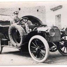 Fotografía antigua: LOTE 10 FOTOGRAFIAS ANTIGUAS ORIGINALES FOTOS COCHE ANTIGUO AUTO CIRCA 1920 BARCELONA. Lote 183749702