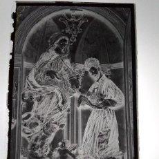 Fotografía antigua: SEVILLA ANTIGUO CLICHÉ DE LA IGLESIA DE SANTA CATALINA NEGATIVO EN CRISTAL. Lote 183844182
