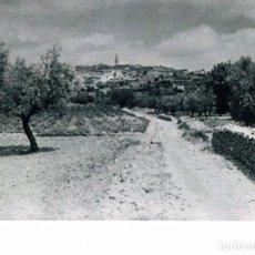 Fotografía antigua: PARCENT (ALICANTE). VISTA GENERAL. RIU RAU. AÑO 1954. Lote 183866210