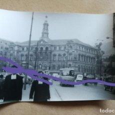 Fotografía antigua: FOTOGRAFÍA ANTIGUA DE BILBAO. FOTO AÑOS 60.. Lote 184265577