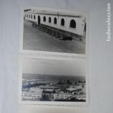 Fotografía antigua: FOTOS MUELLE DE CADIZ , AÑO 1949 - 50. Lote 184304775