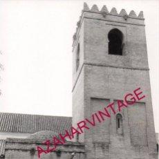 Fotografía antigua: SEMANA SANTA SEVILLA, ANTIGUA FOTOGRAFIA PASO CRISTO HERMANDAD SAN ROQUE,160X240MM. Lote 184508682