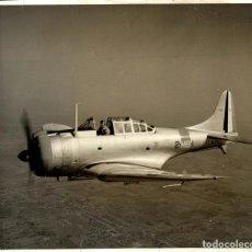 Fotografía antigua: DOUGLAS SBD DAUNTLESS 25 * 20 CM DIVE BOMBERS. Lote 184787250
