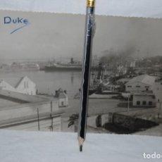 Fotografía antigua: CADIZ FOTO DEL ANTIGUO MUELLE . . Lote 185349765