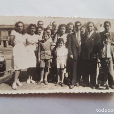 Fotografía antigua: PUERTO BUENOS AIRES 1947 FAMILIA FAMILY FAMILLE. Lote 185658967