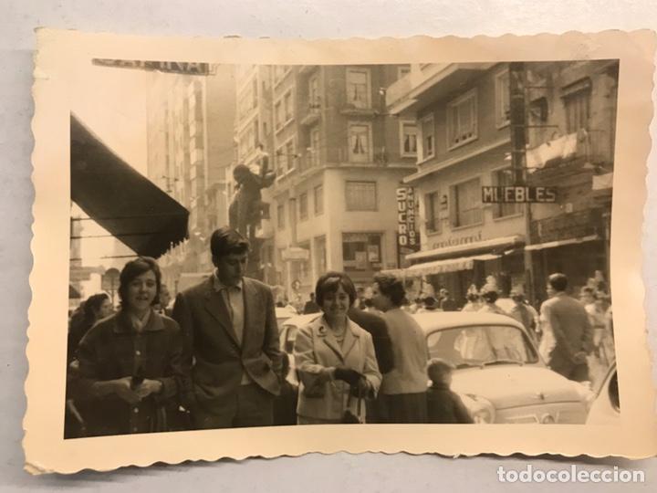 FALLAS, VALENCIA FOTOGRAFÍA. CALLEJEANDO LA CIUDAD.. AVDA. BARON DE CARCER Y ALEDAÑOS? (H.1960?) (Fotografía Antigua - Fotomecánica)