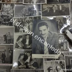 Fotografía antigua: OVIDIO GUTIERREZ. ACTOR DE TEATRO BARCELONÉS. AÑOS 40-50-60. LOTE FOTOS. Lote 185894426