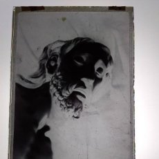 Fotografía antigua: PUENTE GENIL CÓRDOBA ANTIGUO CLICHÉ DE JESÚS DEL SANTO ENTIERRO NEGATIVO EN CRISTAL. Lote 186093960