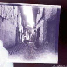 Fotografía antigua: NEGATIVO CELULOIDE PUEBLO DE CANDELARIO 1930 SALAMANCA.. Lote 186167322