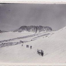 Fotografía antigua: ANTIGUA FOTOGRAFIA ASCENSIÓ A L'ANETO 1935 – BIBLIOTECA LLUIS SOLE SABARÍS. Lote 186177415