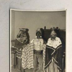 Fotografía antigua: JÁTIVA (VALENCIA) NAVIDAD, LOS REYES MAGOS LLEGAN A LA CIUDAD...(H.1960?). Lote 186183260