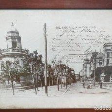 Fotografía antigua: FOTOGRAFÍA AMPLIADA CALLE DEL SOL. Lote 186185297