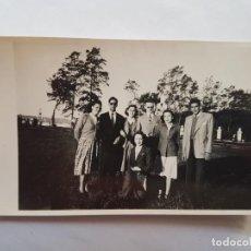 Fotografía antigua: JOVENES, JEUNES, YOUNG BOYS AV. GENERAL PAZ BUENOS AIRES ARGENTINA 1949. Lote 186278881