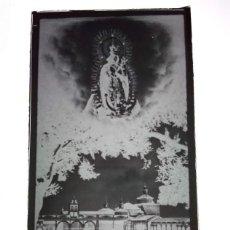 Fotografía antigua: LOS SANTOS DE MAIMONA BADAJOZ ANTIGUO CLICHÉ DE NTRA SRA DE LA ESTRELLA NEGATIVO EN CRISTAL. Lote 186309098