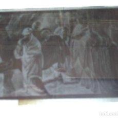 Fotografía antigua: MADRID ANTIGUO CLICHÉ DE VIDA DE LA VIRGEN NEGATIVO EN CRISTAL. Lote 186312125