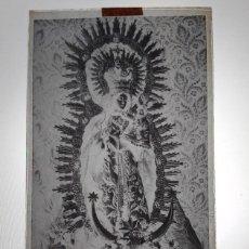 Fotografía antigua: ANTIGUO CLICHÉ DE NTRA SRA DE LA ESTRELLA PATRONA DE LOS SANTOS DE MAIMONA BADAJOZ NEGATIVO CRISTAL. Lote 186312800