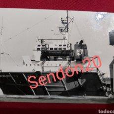 Fotografía antigua: FOTOGRAFIA BUQUE ALMUDENA DEL MAR 1986. Lote 187392797