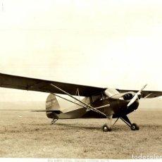 Fotografía antigua: AERONCA SCOUT 1938 AERONAUTICAL CORPORATION OF AMERICA 26 * 20 CM. Lote 187490211