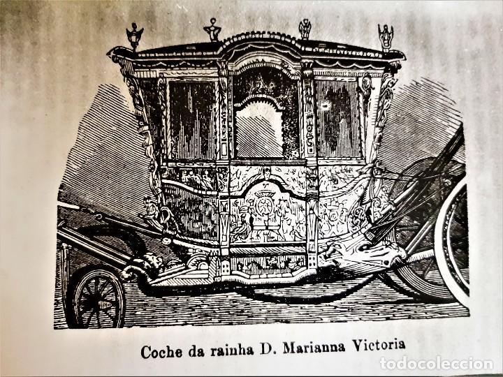 FOTO COCHE DE RAINHA D, MARIANNA VICTORIA PORTUGAL 24 X 18.CM (Fotografía Antigua - Fotomecánica)