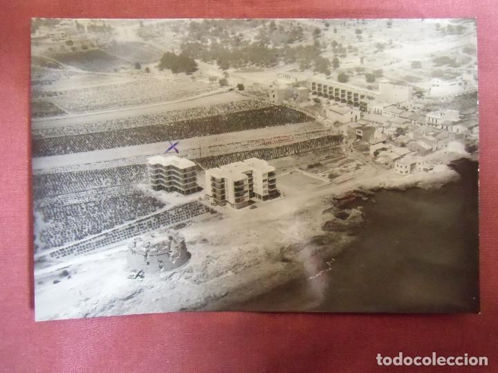 MORAIRA(ALICANTE)FOTO AEREA,AÑOS 60. (Fotografía Antigua - Fotomecánica)