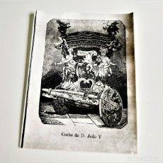 Fotografía antigua: FOTO COCHE DE D, JOÀO V PORTUGAL 24 X 18.CM. Lote 189648817