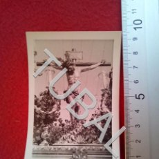 Fotografía antigua: TUBAL SEMANA SANTA DE SEVILLA SAN BERNARDO PASO FOTOGRAFÍA B27. Lote 189809122