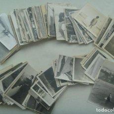 Fotografía antigua: LOTE DE 200 FOTOGRAFIAS FAMILIARES EN BLANCO Y NEGRO , AÑOS 50 Y 60 .. TODAS DE 7,5 X 10,5 CM. Lote 189817170