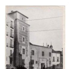 Fotografía antigua: MADRID.- CASA Y TORRE DE LOS LAJANES. FOTO RUIZ VENACCI. 24X18.. Lote 190125310