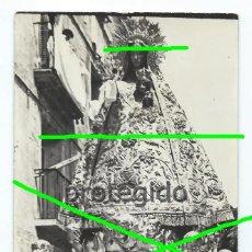 Fotografía antigua: SANTA ANA, EN PROCESIÓN. PATRONA DE TUDELA, NAVARRA. FOTÓGRAFO DESCONOCIDO.. Lote 190180493