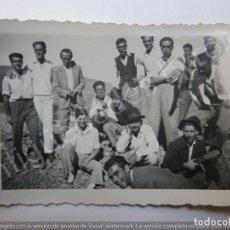 Photographie ancienne: FOTOGRAFÍA ANTIGUA. GRUPO DE AMIGOS Y TIMPLE. CANARIAS. (9 X 6,5 CM). Lote 191003598