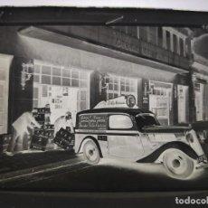 Fotografía antigua: ANTIGUO CLICHE NEGATIVO EN CRISTAL PUBLICIDAD BELLA AURORA BARCELONA. Lote 191015900