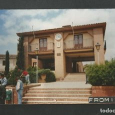 Fotografía antigua: FOTOGRAFIA AYUNTMIENTO DE FROMISTA - PALENCIA. Lote 191237400