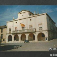 Fotografía antigua: FOTOGRAFIA AYUNTAMIENTO DE DUEÑAS - PALENCIA. Lote 191237418
