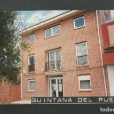 Fotografía antigua: FOTOGRAFIA DEL YUNTMIENTO DE QUINTANA DEL PUENTE - PALENCIA. Lote 191237421
