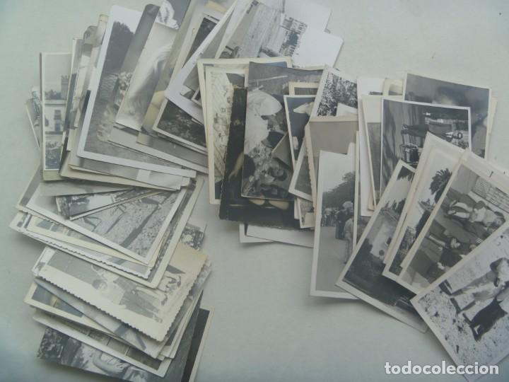 LOTE DE 100 FOTOS FAMILIARES EN BLANCO Y NEGRO, AÑOS 50 - 60, ETC (Fotografía Antigua - Fotomecánica)