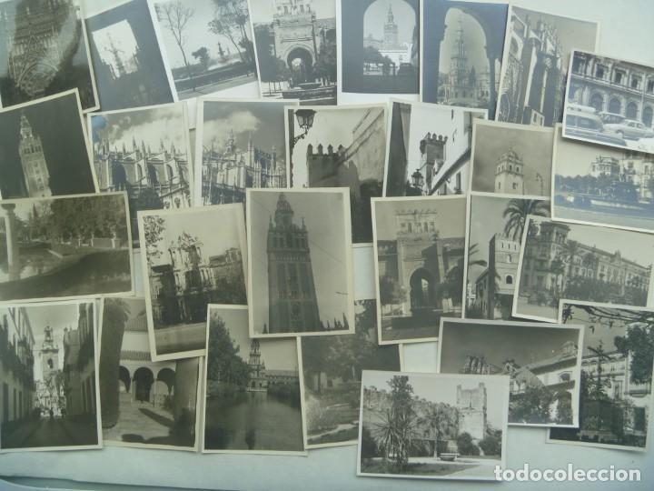 Fotografía antigua: LOTE DE 100 FOTOS FAMILIARES EN BLANCO Y NEGRO, AÑOS 50 - 60, ETC - Foto 6 - 191254143