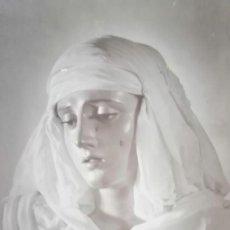 Fotografía antigua: SEVILLA SEMANA SANTA,ANTIGUA FOTO POSTAL VIRGEN DE LA PRESENTACIÓN HERMANDAD DEL CALVARIO. Lote 187195837