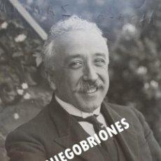 Fotografía antigua: 1931 ORIGINAL FOTOGRAFIA PRESIDENTE DE LA REPUBLICA NICETO ALCALA ZAMORA GUERRA CIVIL ESPAÑOLA. Lote 191284803