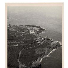 Fotografía antigua: SANTA CRUZ DE TENERIFE.- VISTA AÉREA. FOTO E. BAENA. 19X29.. Lote 191340978