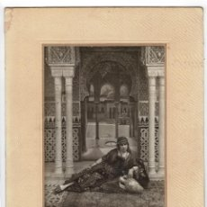 Fotografía antigua: MELILLA.- RETRATO DE MARIA LUISA 1918. FOTO TUCHAUD Y CANO. 28X30.. Lote 191358333