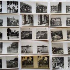Fotografía antigua: CROMOS ESTEREOSCOPICOS DE GALLETAS Y CHOCOLATES SOLSONA RIUS S.A. 15 DIFERENTES. Lote 191364895