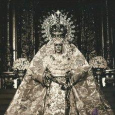 Fotografía antigua: SEVILLA SEMANA SANTA, ESPERANZA MACARENA, ESTUDIO DIHOR. Lote 191593973