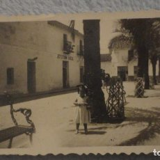 Fotografía antigua: ANTIGUA FOTOGRAFIA.JEFATURA LOCAL.MUNICIPIO LA CAMPANA.SEVILLA AÑOS 40?. Lote 191654560