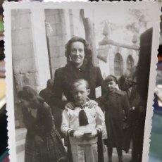 Fotografía antigua: ANTIGUA FOTOGRAFIA IGLESIA DE BELEN CREVILLENTE ALICANTE. Lote 191725698