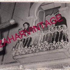 Fotografía antigua: SEMANA SANTA CUEVAS DE ALMANZORA, ALMERIA, AÑOS 50, JESUS NAZARENO,140X90MM. Lote 191911588