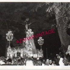 Fotografía antigua: SEMANA SANTA SEVILLA, ANTIGUA FOTOGRAFIA PASO CRISTO DE LAS MISERICORDIAS, SANTA CRUZ,126X88MM. Lote 192133596