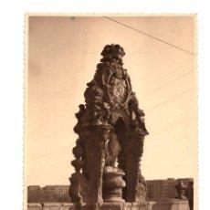Fotografía antigua: MADRID.- SANTA MARÍA EN EL PUENTE DE TOLEDO MAYOR DE SAN ISIDRO. 12X17.. Lote 192134572