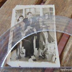 Fotografía antigua: FOTO FOTOGRAFÍA NIÑOS CABALLITO VESPA JUGUETE SAUQUILLO. Lote 192215096